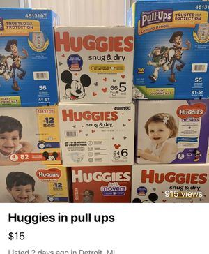Huggies for Sale in Detroit, MI
