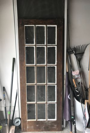 """Door with glass 30"""" x80"""" for Sale in Orlando, FL"""