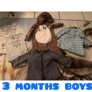 3 months boys bundle for Sale in Fresno, CA
