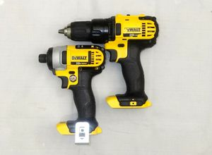 DeWalt 20V Drill/Driver & Impact Driver Combo Kit for Sale in Fife, WA