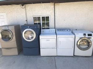 Gas Dryers With Warranty for Sale in Fontana, CA