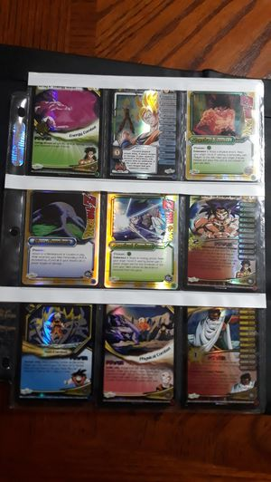 Rare dragonball z broly / movie cards for Sale in Kissimmee, FL
