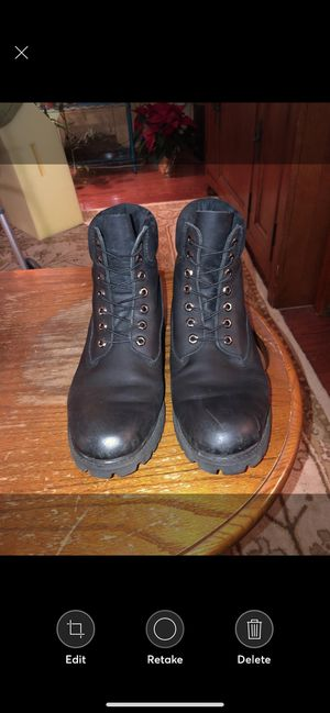 Black timberland boots for Sale in Columbus, OH