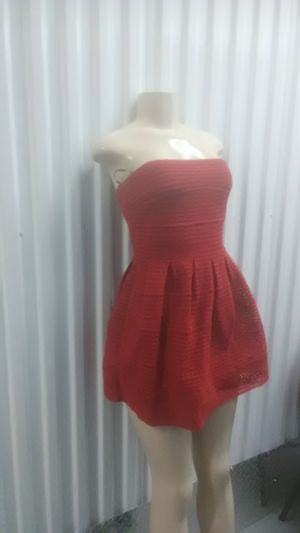 Red party prom dress size medium for Sale in Washington, DC