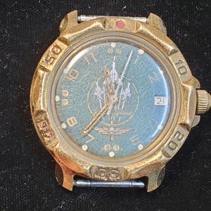 WATCH RARE! USSR Soviet era KGB Pilot Real water resistant anti shock for Sale in Vancouver, WA