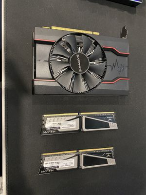 RX 550 4GB and 8GB DDR4 2800 RAM for Sale in San Jose, CA