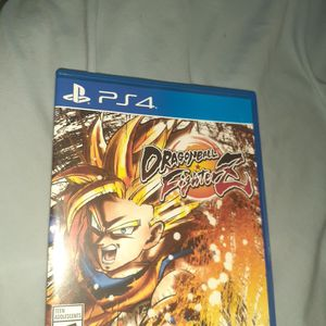 DRAGON BALL Fighterz (Ps4) (New) opened seal but never used. for Sale in Oakland Park, FL