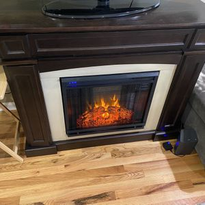 Tv Stand/ Fire Place for Sale in Atlanta, GA