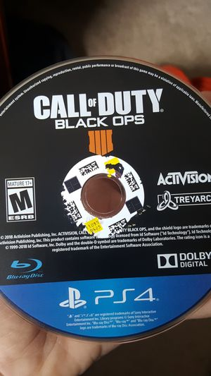 Black ops 4 ps4 for Sale in Springfield, VA