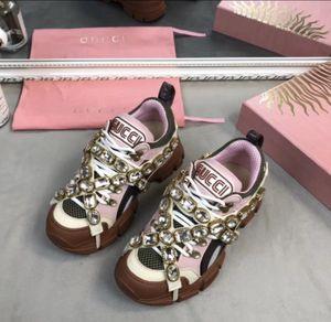 Gucci Burberry Chanel Fashionova Designer Flashtreks Womens Size 6.5 Euro 38 for Sale in Los Angeles, CA