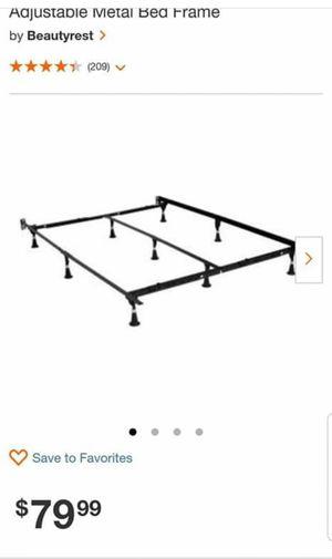 Adjustable Q/K bed frame for Sale in Winchester, CA