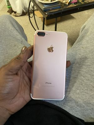 iPhone 7 Plus rose gold port to any carrier and I also have a brand new one month old iPhone 7 Plus are black from metro asking 600 or best offer for for Sale in Detroit, MI