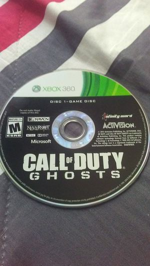 Call of duty ghosts xbox 360 for Sale in Lakewood Township, NJ