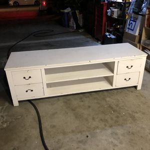 Bed End bench white for Sale in San Jose, CA