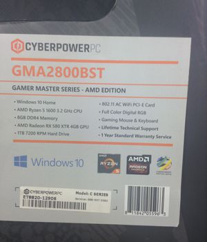 Cyberpower Gaming computer newish in box for Sale in Chicago, IL