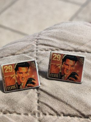 Not free Elvis Presley earrings from 1992,give me most reasonable offer for Sale in Fort Worth, TX