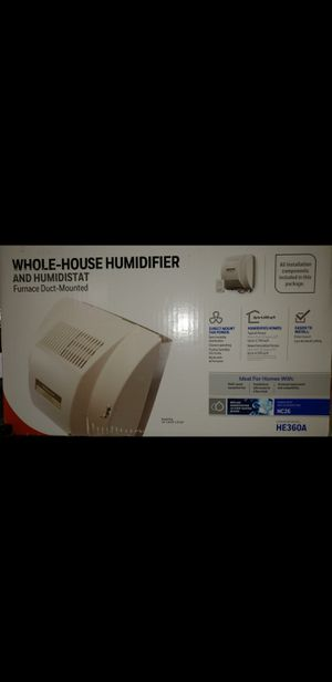 Whole house humidifier and humidistat for Sale in Bakersfield, CA