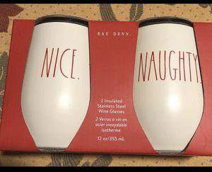 Rae Dunn Wine Insulated Glasses for Sale in Los Angeles, CA