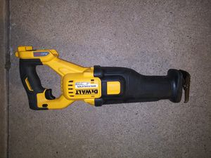 DeWalt 60v brushless reciprocating saw. Tool only. for Sale in Moore, OK
