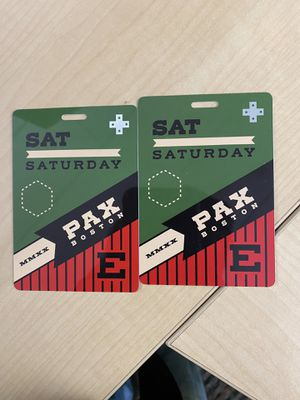 PAX East Tickets! Saturday 02/29!! Boston for Sale in Providence, RI