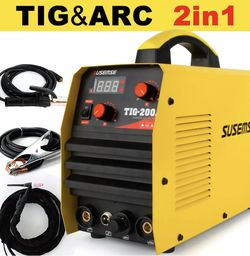 TIG-200A HF TIG/Stick/Arc TIG Welder, 200Amp 110 & 220V Dual Voltage TIG Welding for Sale in Happy Valley,  OR