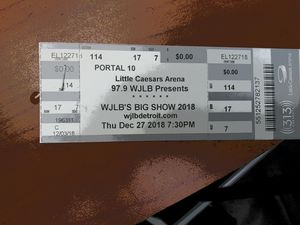 Little wayne tickets for Sale in Mount Morris, MI