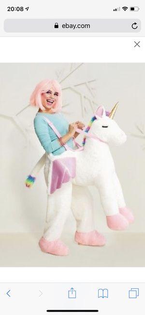 Adult Halloween unicorn costume for Sale in Tampa, FL