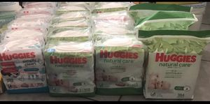 Huggies Baby Wipes Mix Or Match for Sale in Cleveland, OH