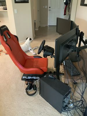 Racing Simulator Cockpit for Sale in Newport Beach, CA