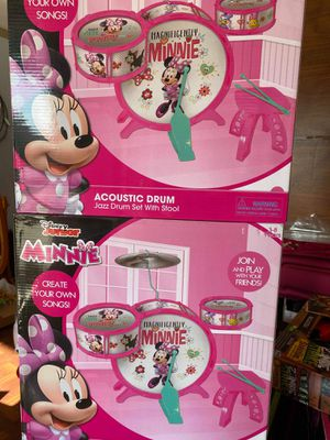 Mini-Mouse Drum set. for Sale in Fresno, CA