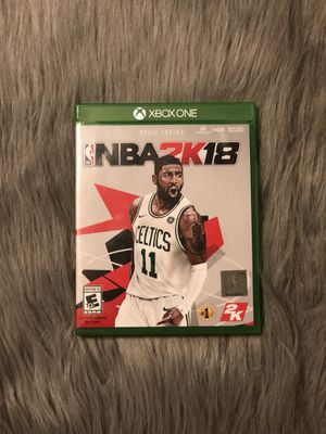 NBA 2K18 for Xbox One for Sale in Denver, CO