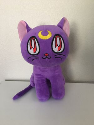 Luna from Sailor Moon, plush for Sale in Fullerton, CA