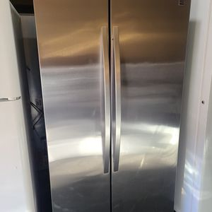 refrigerator sxs kenmore stainless steel for Sale in Tustin, CA