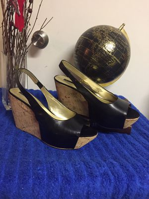 "Nine West ""Danube"" Size 9 1/2 Wedge Slingback for Sale in North Little Rock, AR"
