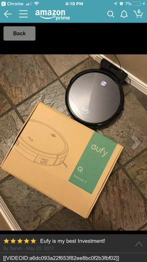 Barely used Eufy RoboVac 11, High Suction, Self-Charging Robotic Vacuum Cleaner for Sale in Humble, TX