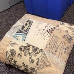 Textbooks For School And Floor Ottoman for Sale in Fairfax, VA