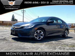 2017 Honda Civic Sedan for Sale in Montclair, CA