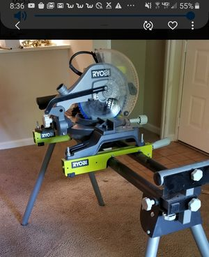 """12"""" circle saw With the stand for Sale in Livermore, CA"""
