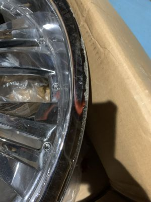 """3- 24"""" CHROME RIMS by GOLDEN for Sale in Randallstown, MD"""