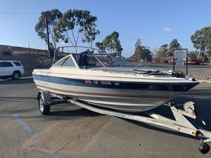 1992 bayliner classic... boat and trailer for Sale in Chula Vista, CA