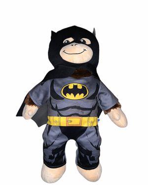 "Build A Bear Monkey Plush Brown 18"" Soft Eyes Toy Stuffed Animal Chimp Batman for Sale in Chula Vista, CA"