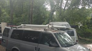 Van Metal ladder/tube rack for for Sale in Brooklyn Park, MD