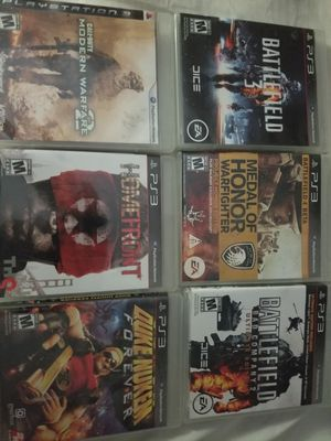 6 ps3 games for Sale in Tacoma, WA