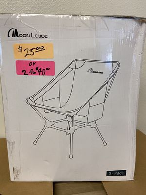 Outdoor Camping Chairs for Sale in Bakersfield, CA