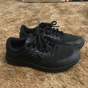 Black Nike Running Shoes Size 6.5 Women's for Sale in Fresno, CA