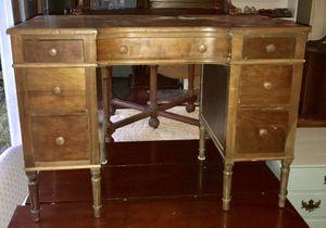 Solid wood petite vintage desk for Sale in Rockville, MD