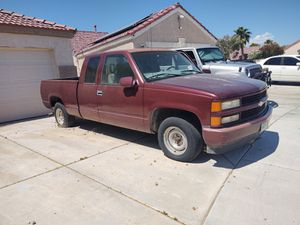 Parts only of 97 Chevy Silverado extra cab short bed for Sale in Las Vegas, NV