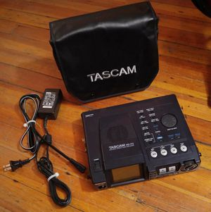 MINT TASCAM HD-P2 Audio Recorder with Carrying Cover and CF cards for Sale, used for sale  New York, NY