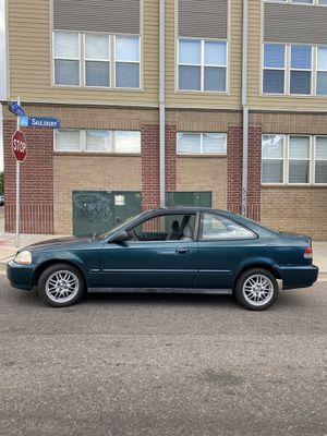 1997 Honda Civic EX VTEC 5 Speed manual trans for Sale in Denver, CO