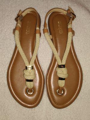 Michael Kors flat sandals for Sale in San Antonio, TX